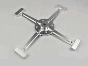 aluminium machining drone
